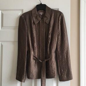 J Jill zip jacket